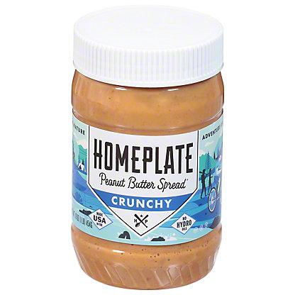 Homeplate Crunchy Peanut Butter,16.00 oz