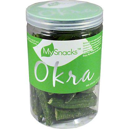 MySnack Okra Snacks, 4.5 oz
