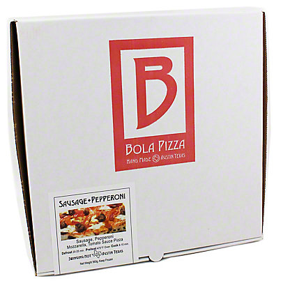 Bola Pizza Sausage + Pepperoni Pizza,EACH
