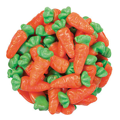 Bulk Easter Gummi Carrots, Sold by the pound