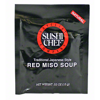 Sushi Chef Red Miso Soup, 0.53 oz