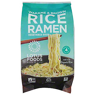 LOTUS FOODS Ramen Wakame & Brown Rice With Miso, 2.8OZ