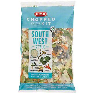 H-E-B Southwest Chopped Salad Kit,12.5 oz