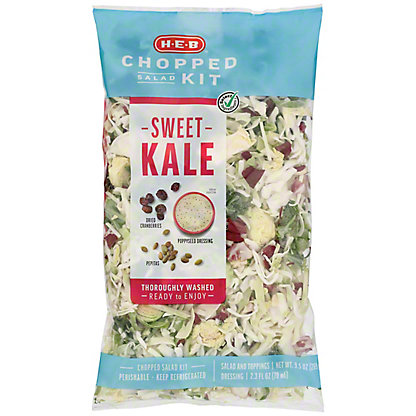 H-E-B Select Ingredients Chopped Sweet Kale Salad Kit,11 oz