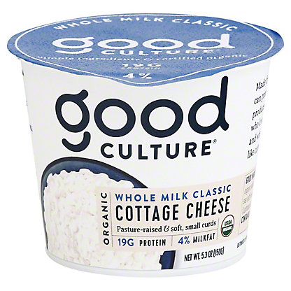 Good Culture Organic Classic Cottage Cheese,5.3OZ