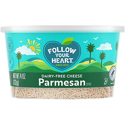 Follow Your Heart Dairy Free Shredded Parmesan, 4 oz
