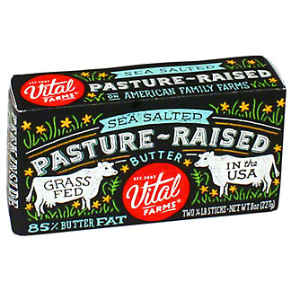 Vital Farms Pasture Verde Seasalted Alfresco Butter, ea