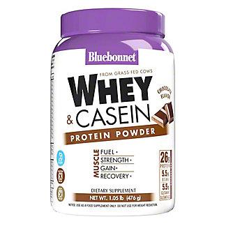 Bluebonnet 100% Dual Action Protein Chocolate, 1.05 lb