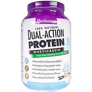 Bluebonnet Nutrition Vanilla Dual Action Protein Powder, 2.1 lb