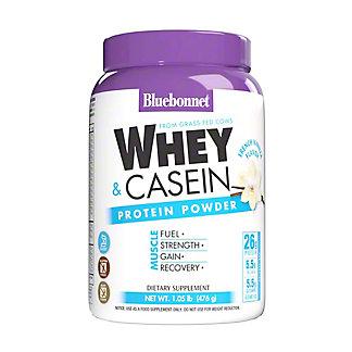 Bluebonnet Whey Protein Isolate Powder French Vanilla, 1.05 lb