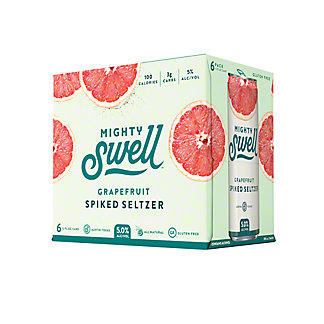 Mighty Swell Sparkling Cocktails Grapefruit, 6/12oz