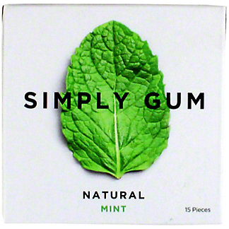 Simply Gum Natural - Mint, 15 ea