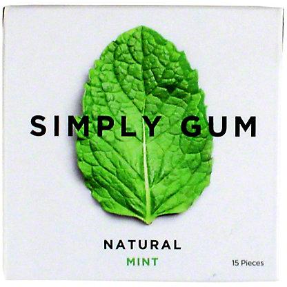 Simply Gum Natural - Mint, 15 ea