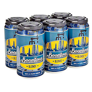 SpindleTap Boomtown Blonde Ale,6/12OZ