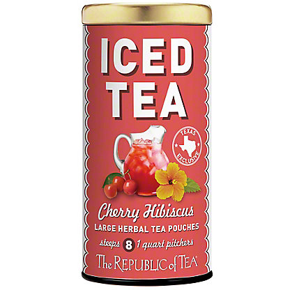 The Republic Of Tea Cherry Hibiscus Iced Tea, 8CT