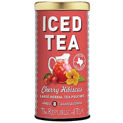 The Republic Of Tea Cherry Hibiscus Iced Tea, 8CT