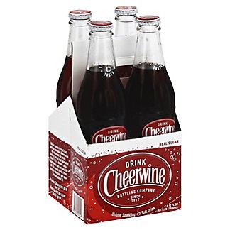 Cheerwine Cherry Flavored Soda,4 ea