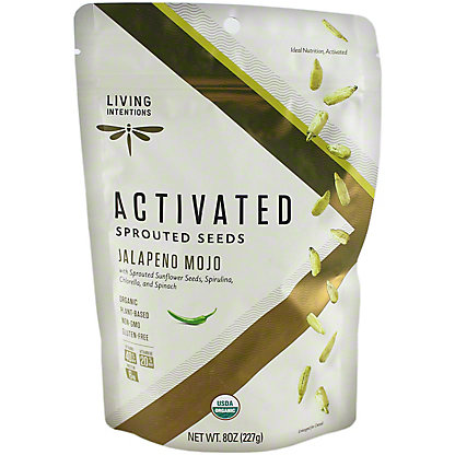 Living Intentions Sprouted Sunflower Seeds And Greens, 8OZ