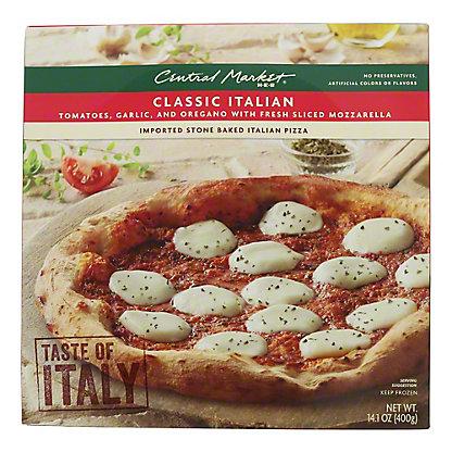 Central Market Classic Italian Pizza,14.1 oz
