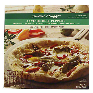 Central Market Artichoke and Peppers Pizza,14.1 oz