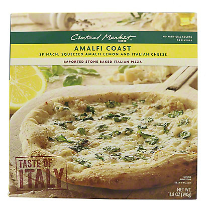 Central Market Amalfi Coast Pizza,13.8 oz