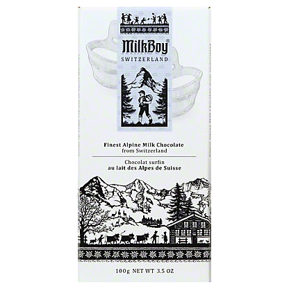 Milkboy Alpine Milk Chocolate, 3.5OZ