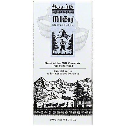 Milkboy Alpine Milk Chocolate, 3.5OZ
