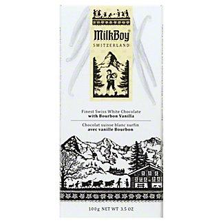 Milkboy Swiss White Chocolate With Bourbon Vanilla, 3.5OZ