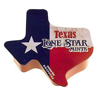 Amusemints Texas Shaped Mints Tin, ea
