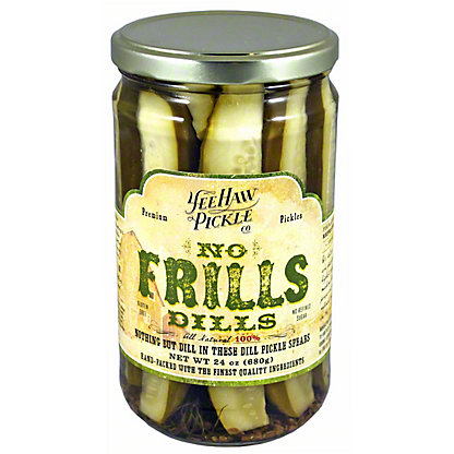 Yee Haw Pickle Co No Frills Dills,24 OZ