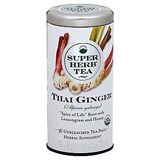 The Republic Of Tea Thai Ginger Superherb Tea, 36CT
