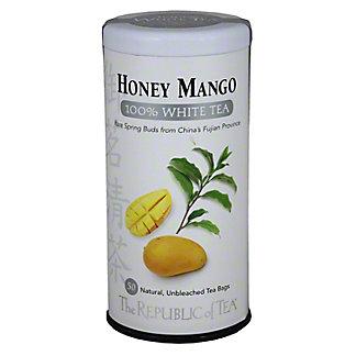 The Republic Of Tea 100% White Tea - Honey Mango, 50CT