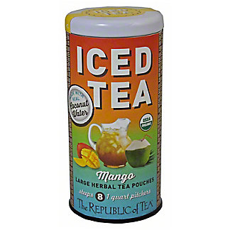The Republic Of Tea Mango Coconut Iced Tea, 2 oz