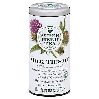 The Republic Of Tea Milk Thistle Super Herb Tea, 36 ea