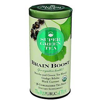 The Republic Of Tea Brain Boost Super Green Tea,36 CT