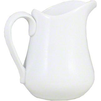 Harold Imports Whiteware Pitcher, 32 oz