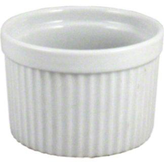 Harold Imports Whiteware 10 Ounce Souffle Dish, 10 oz