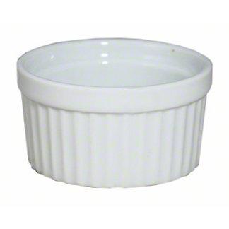 Harold Imports Whiteware 3 Ounce Souffle Dish,3 OZ