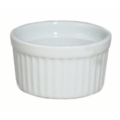 Harold Imports Whiteware 2 Ounce Souffle Dish, 2 OZ