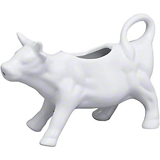 Harold Imports Whiteware Cow Creamer, 6 oz