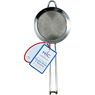 Harold Imports Stainless Steel Double Mesh 4 Inch Strainer, 4 inch