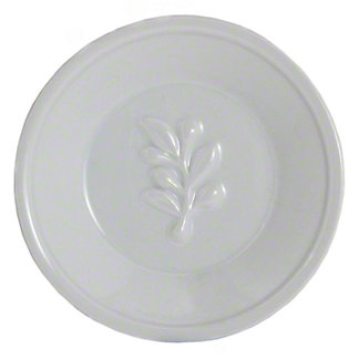 Harold Imports Whiteware 5 Inch Olive Oil Dish, 5 IN