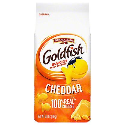 Pepperidge Farm Goldfish Cheddar Baked Snack Crackers, 6.6 oz