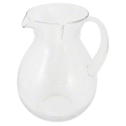 TAG Clear Bubble Glass Pitcher, ea