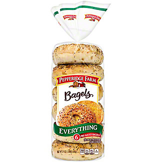 Pepperidge Farm Everything Bagels, 6 ct