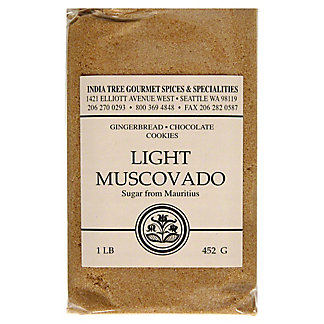 India Tree Sugar From Mauritius Light Muscovado,LB