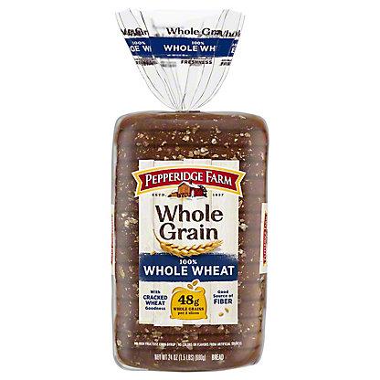 Whole Grain 100% Whole Wheat Bread