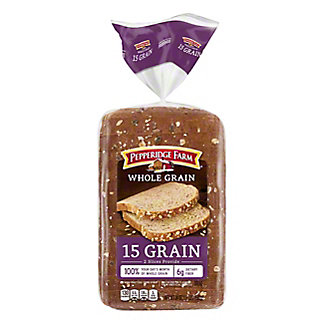 Pepperidge Farm Whole Grain 15 Grain Bread, 24 oz