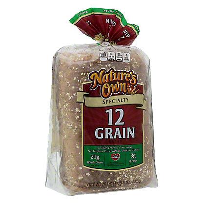 Nature's Own 12 Grain Specialty Bread, 24 oz