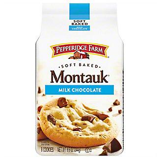 Pepperidge Farm Montauk Milk Chocolate Soft Baked Cookies,8.6 OZ